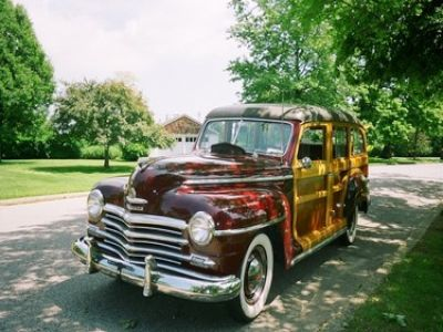 1947 Plymouth woodie
