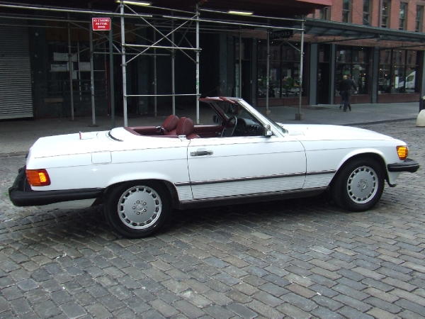 Cooper classics ltd 1987 mercedes benz 560 sl for 1987 mercedes benz 560sl owners manual