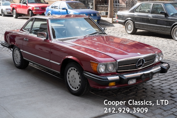 1989 mercedes benz 560sl for Mercedes benz of greenwich used cars