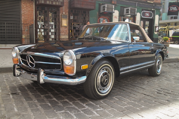 1970 mercedes benz 280sl for Mercedes benz of greenwich used cars