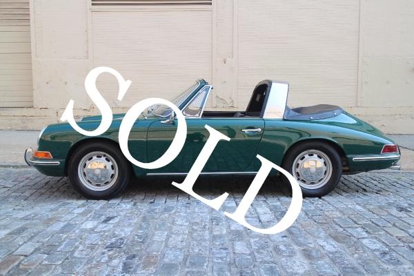1967 Porsche 911 Soft Window Targa