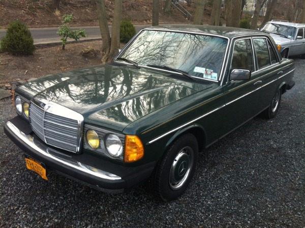 1979 mercedes benz 240d sedan for Mercedes benz 240 d