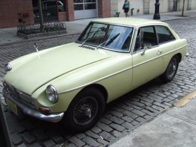 1967 Mg MGB GT Fastback