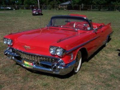 New Cadillac Eldorado >> 1958 Cadillac Eldorado Stock 3502 13706 For Sale Near New