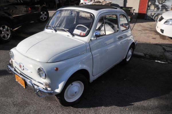 1963 Fiat 500 D Convertible - Silverstone Auctions