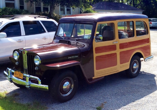 1948 Willys Overland Station Wagon