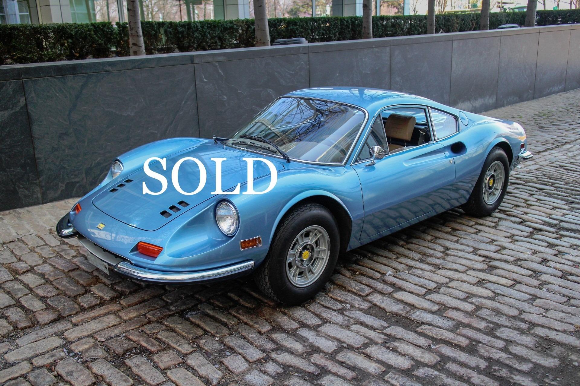 Classic Cars: 1972 Ferrari Dino 246GT