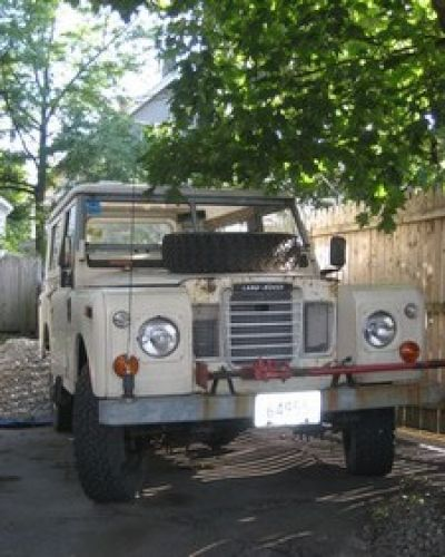 1973 Land Rover Series III Stock # 2671-12966 For Sale