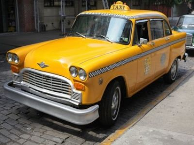 1976 checker taxi stock 3780 13871 for sale near new. Black Bedroom Furniture Sets. Home Design Ideas