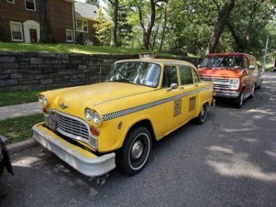 1976 checker taxi stock 3620 13827 for sale near new. Black Bedroom Furniture Sets. Home Design Ideas