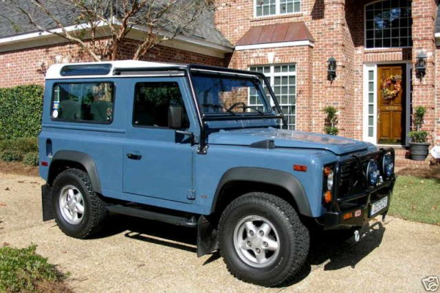 1995 land rover defender stock 4091 14250 for sale near for Garage land rover nancy