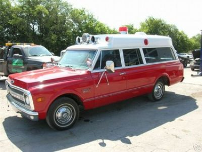 1969 Chevrolet Suburban Ambulance Stock 2157 12512 For