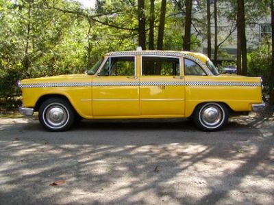 1965 yellow cab checker stock 1550 12005 for sale near. Black Bedroom Furniture Sets. Home Design Ideas