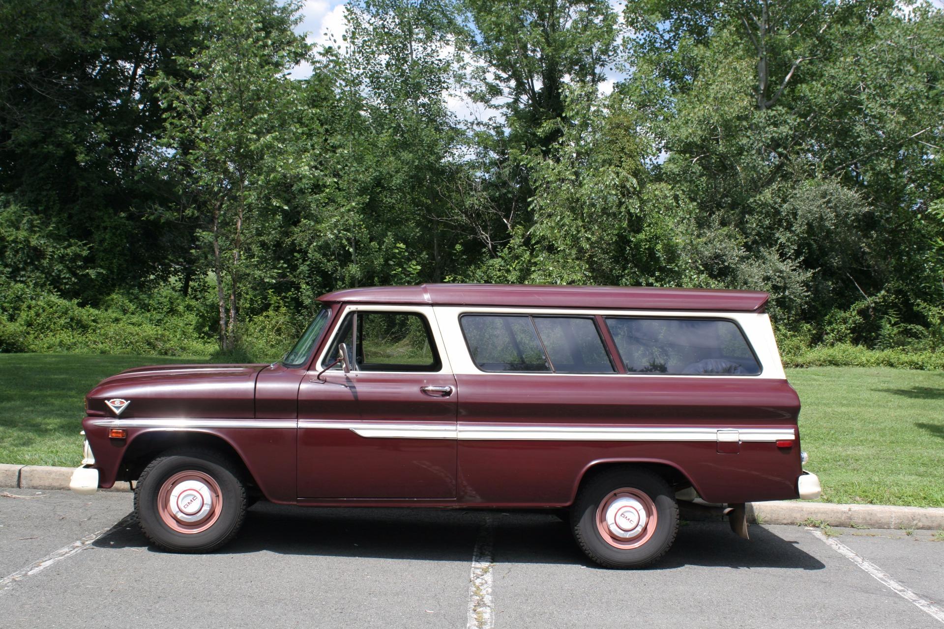 1966 GMC Suburban Stock # 000161 for sale near New York, NY | NY GMC Dealer