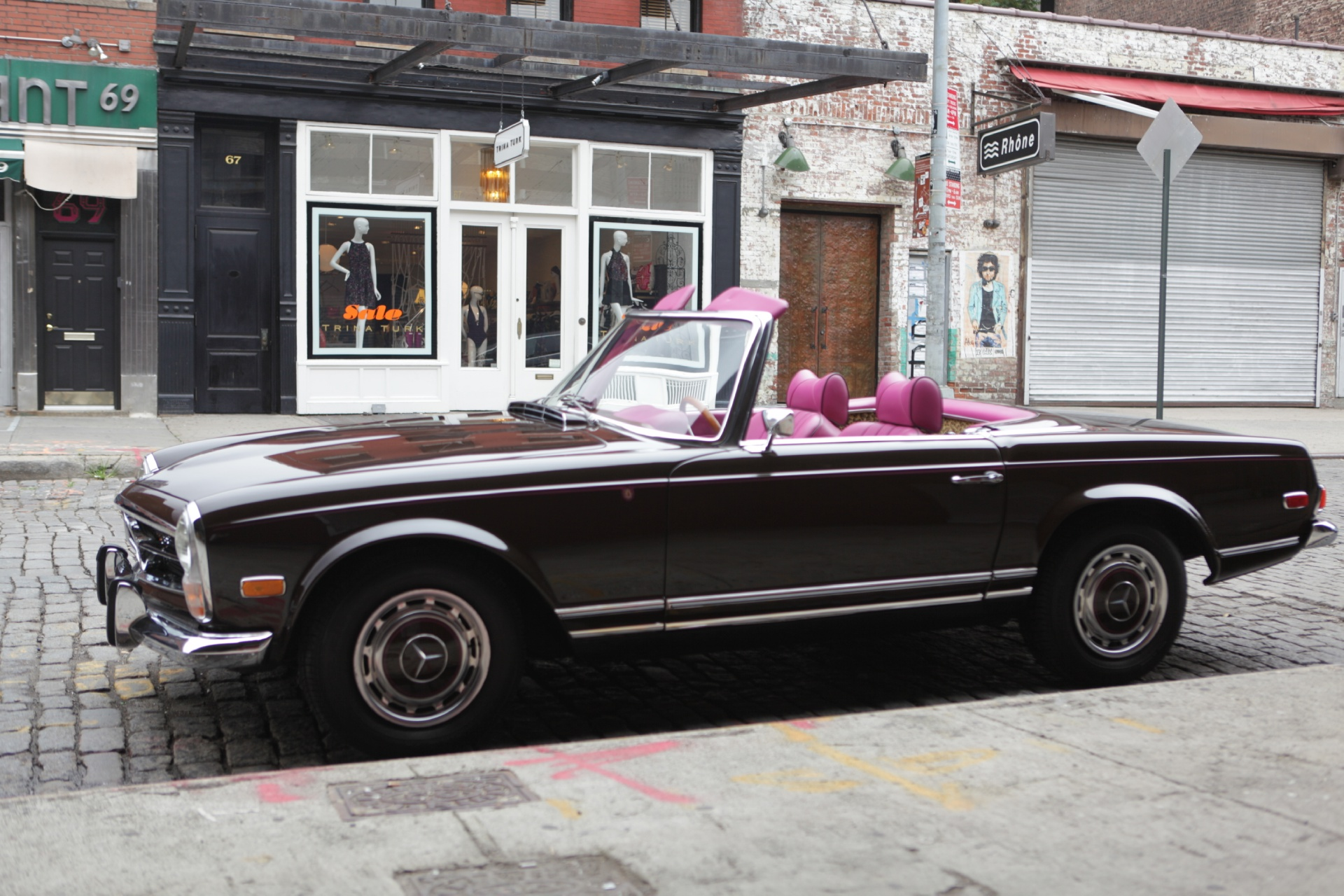 1969 mercedes benz 280sl stock 546 for sale near new for Mercedes benz in nyc
