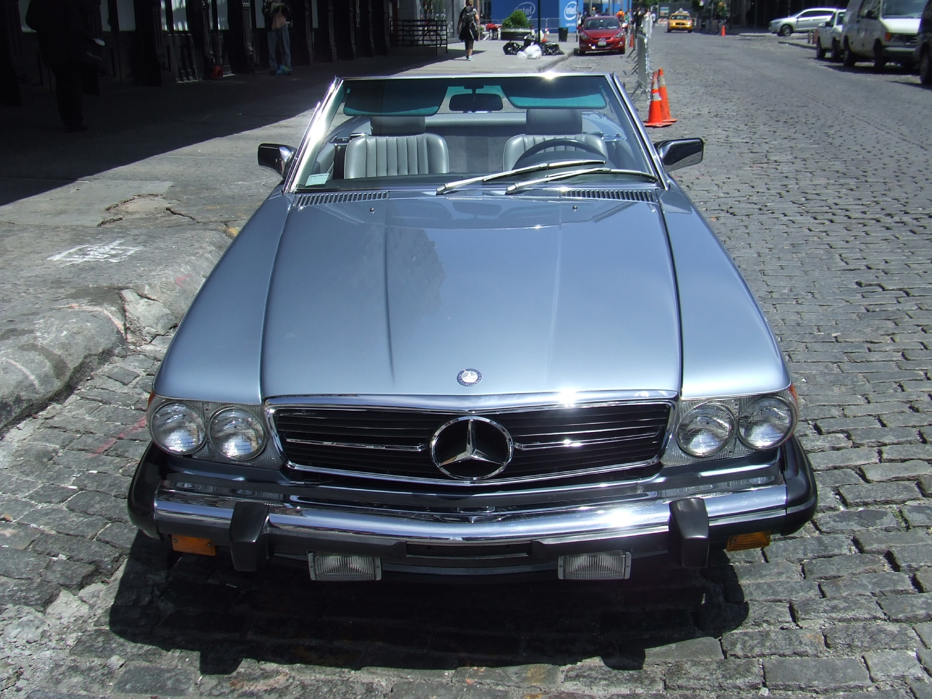 1986 mercedes benz 560sl stock c17 for sale near new for Mercedes benz nyc