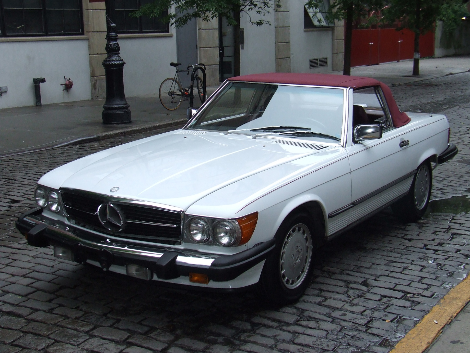 mercedes 1987 benz 560 sl c20 york