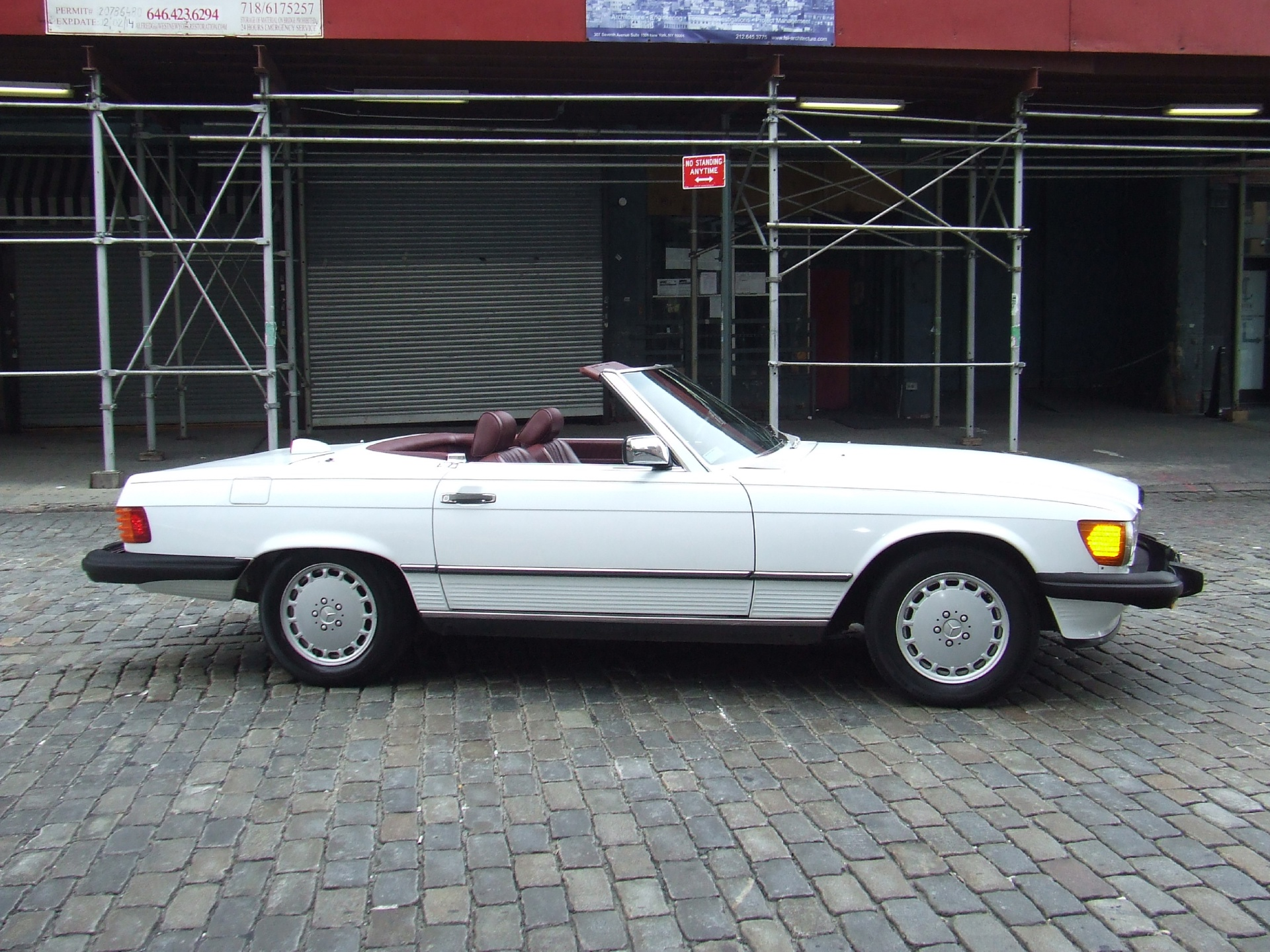 1987 mercedes benz 560 sl stock c20 for sale near new for Mercedes benz nyc
