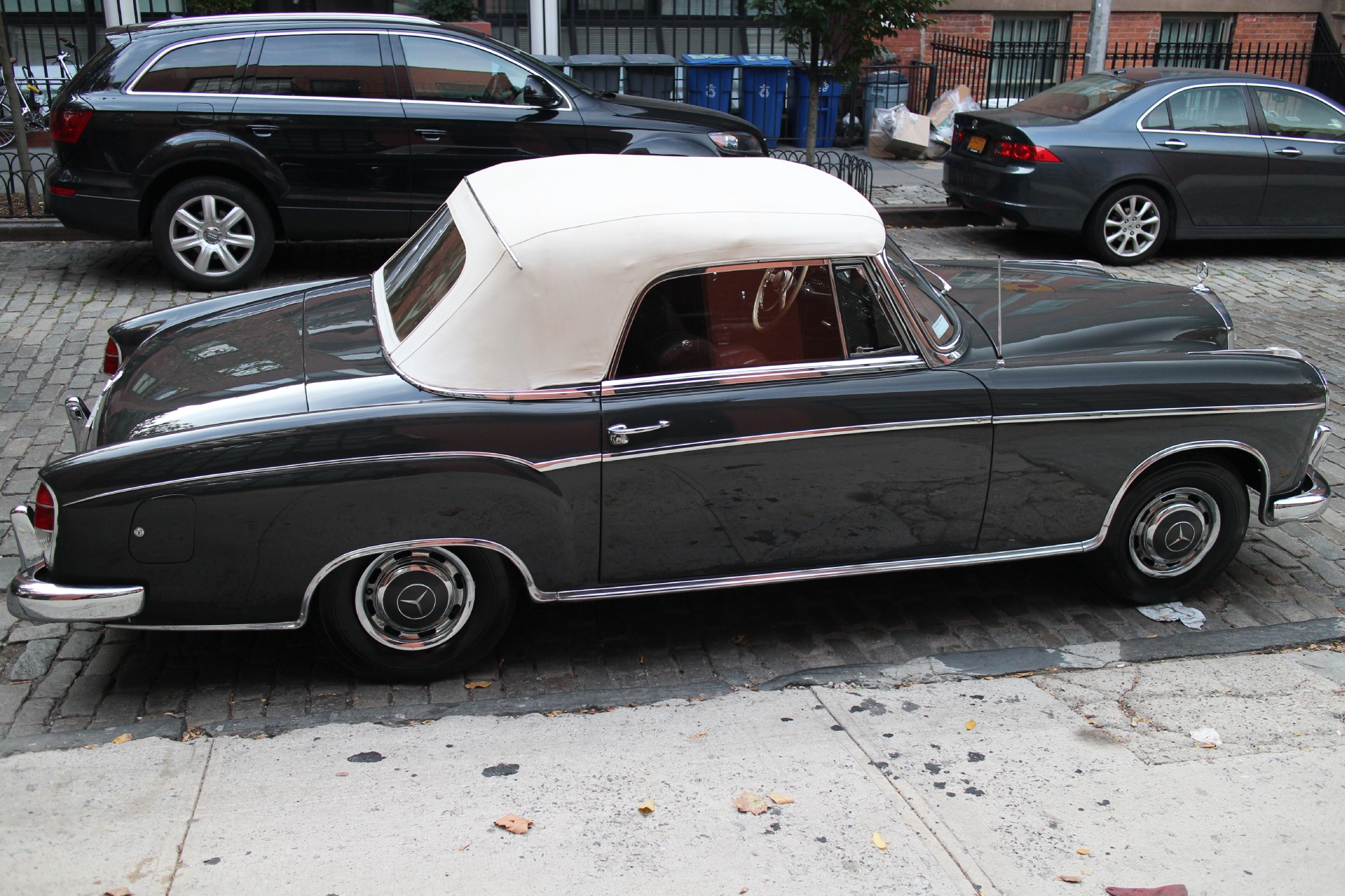1959 mercedes benz 220s stock 662 for sale near new york for Mercedes benz in nyc