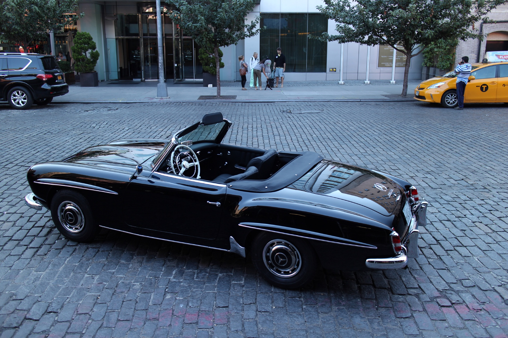 Mercedes Benz In Nyc Of 1962 Mercedes Benz 190sl Stock 622 For Sale Near New