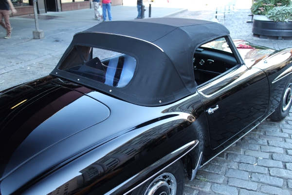 1962 mercedes benz 190sl stock 622 for sale near new for Mercedes benz of greenwich used cars