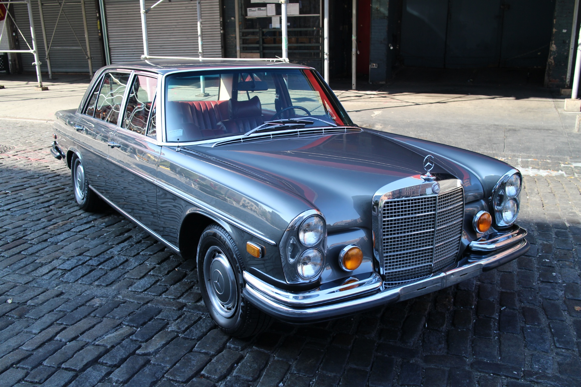 1970 mercedes benz 300sel stock 663 for sale near new for Mercedes benz nyc