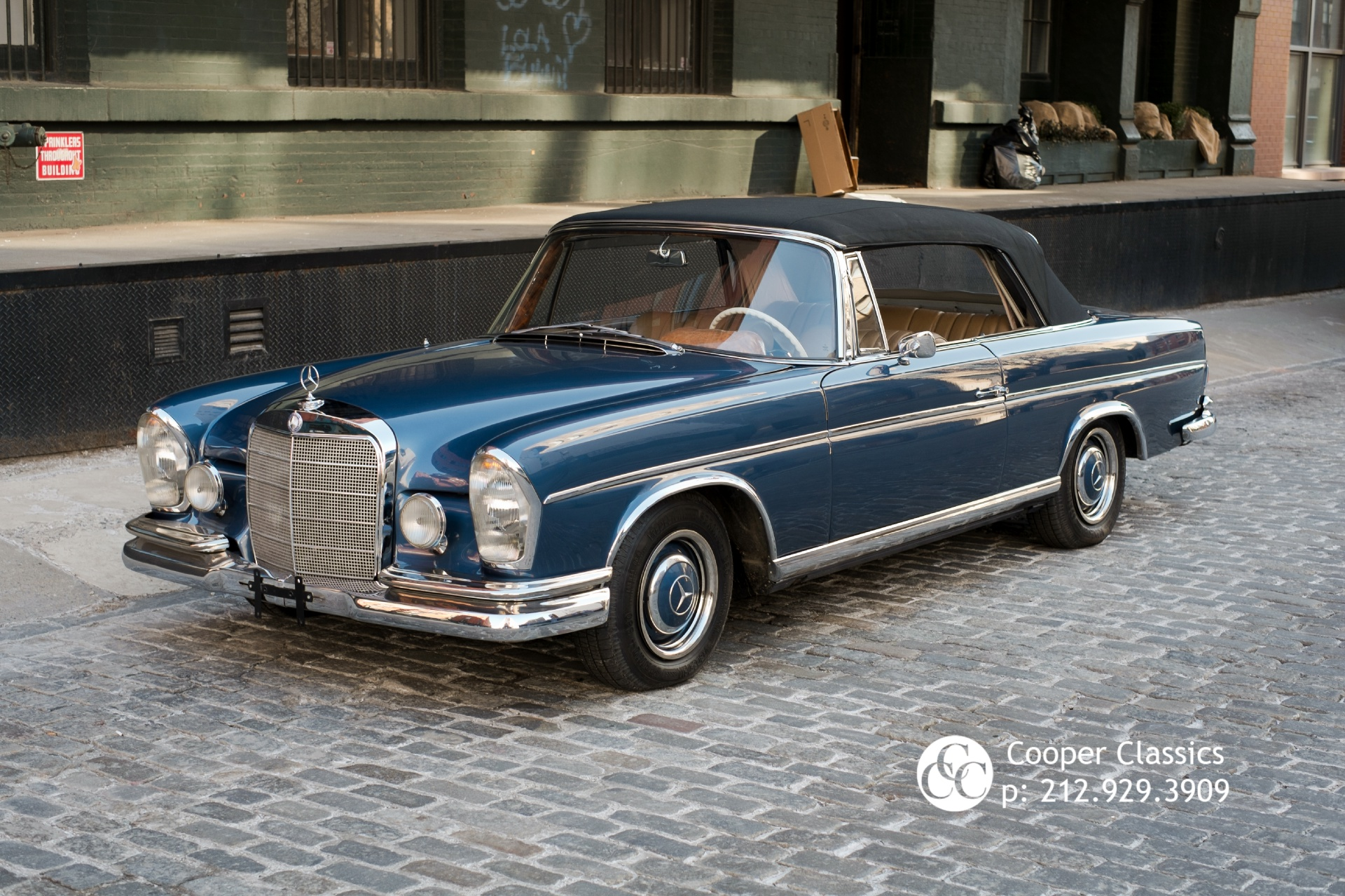 1966 mercedes benz 300se stock 693 for sale near new for Mercedes benz in nyc