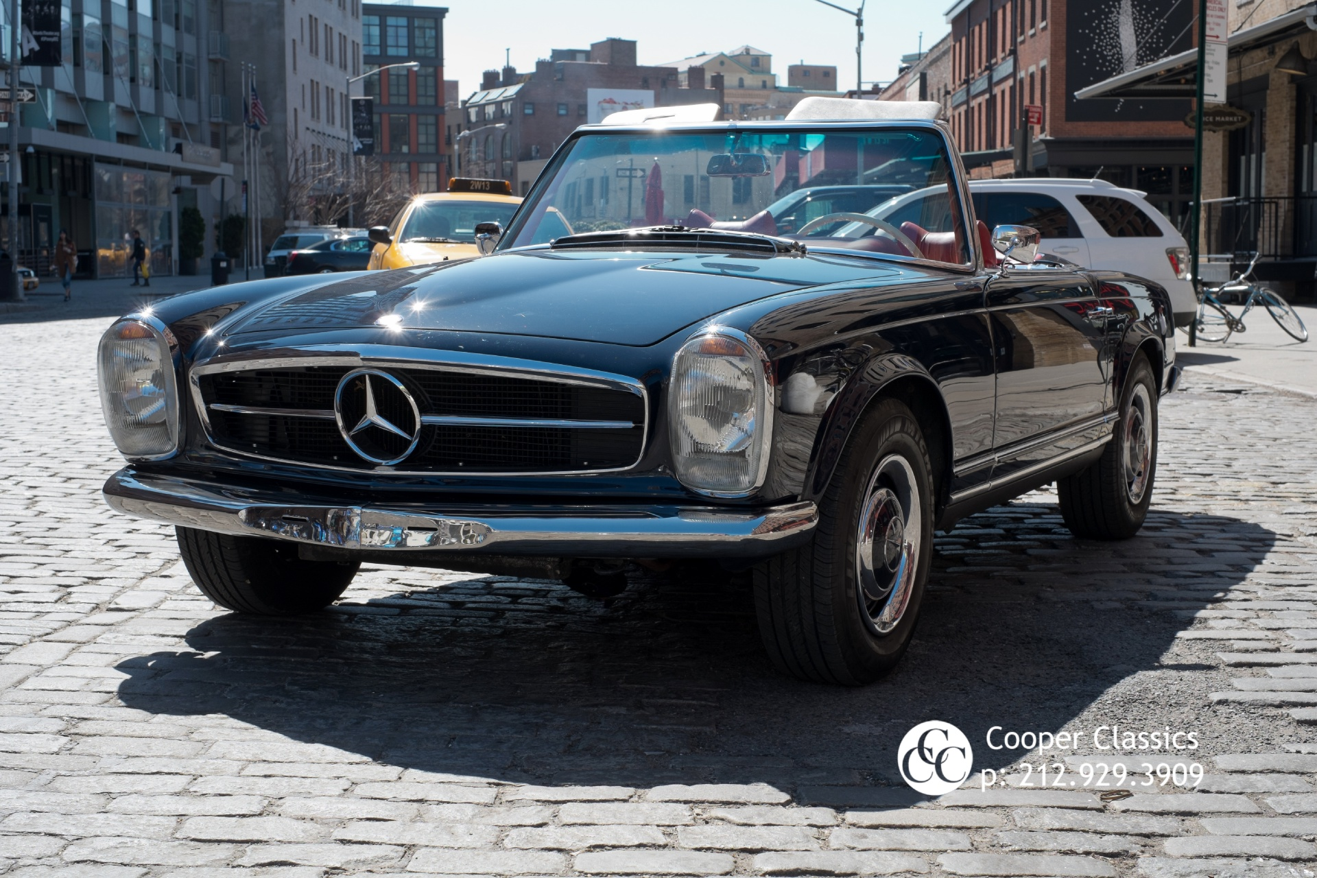1967 mercedes benz 250sl stock 658 for sale near new for Mercedes benz nyc