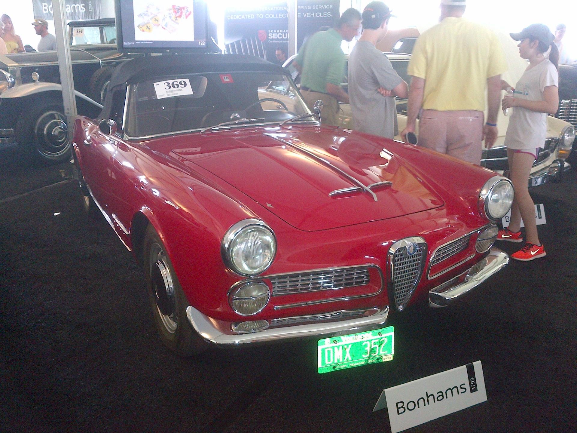 1959 alfa romeo 2000 touring stock alfaromeotouring for sale near new york ny ny alfa romeo - Nearest alfa romeo garage ...