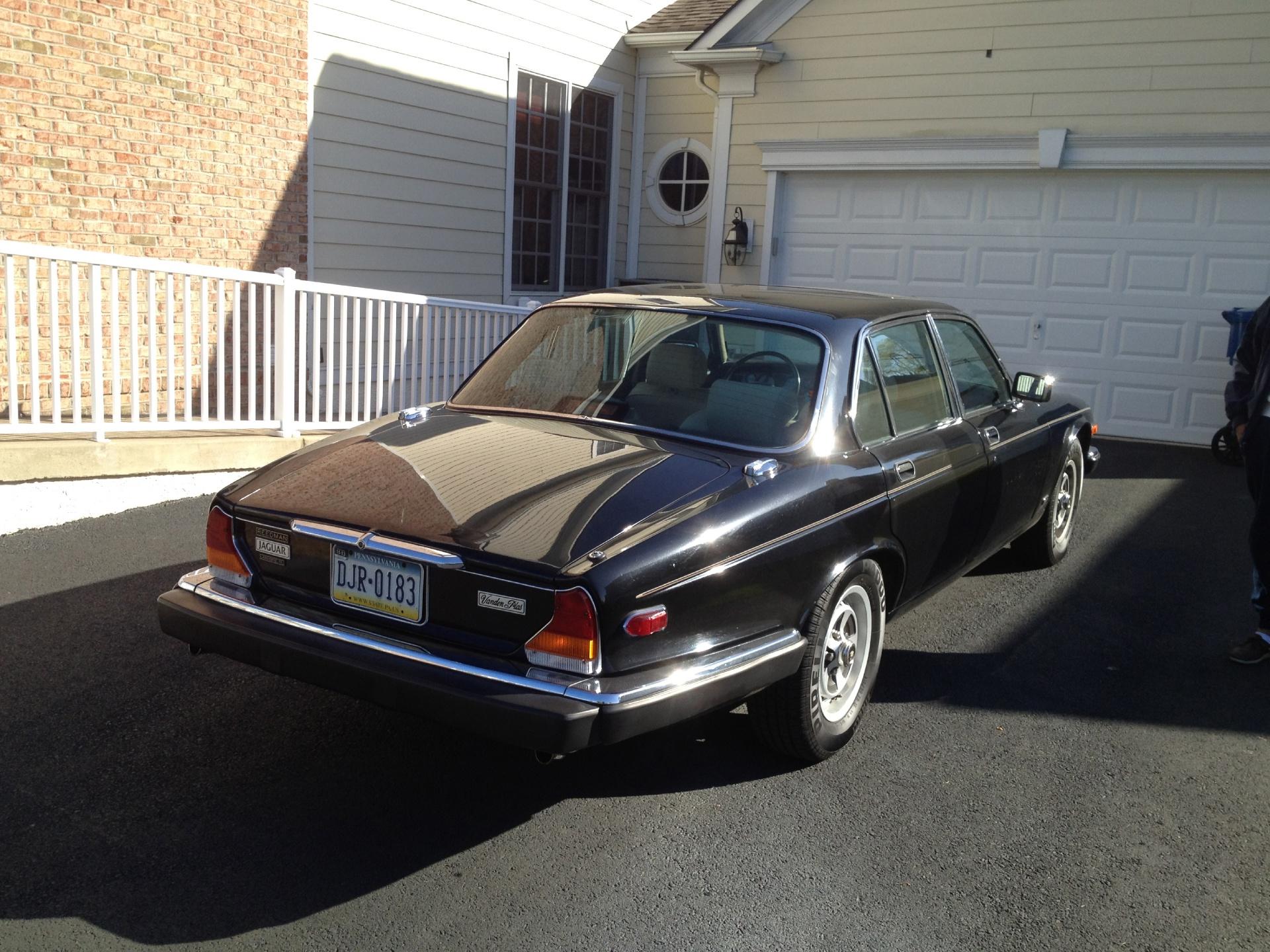 1987 Jaguar XJ6 Vanden Plas Stock # BLACKXJ12 for sale ...