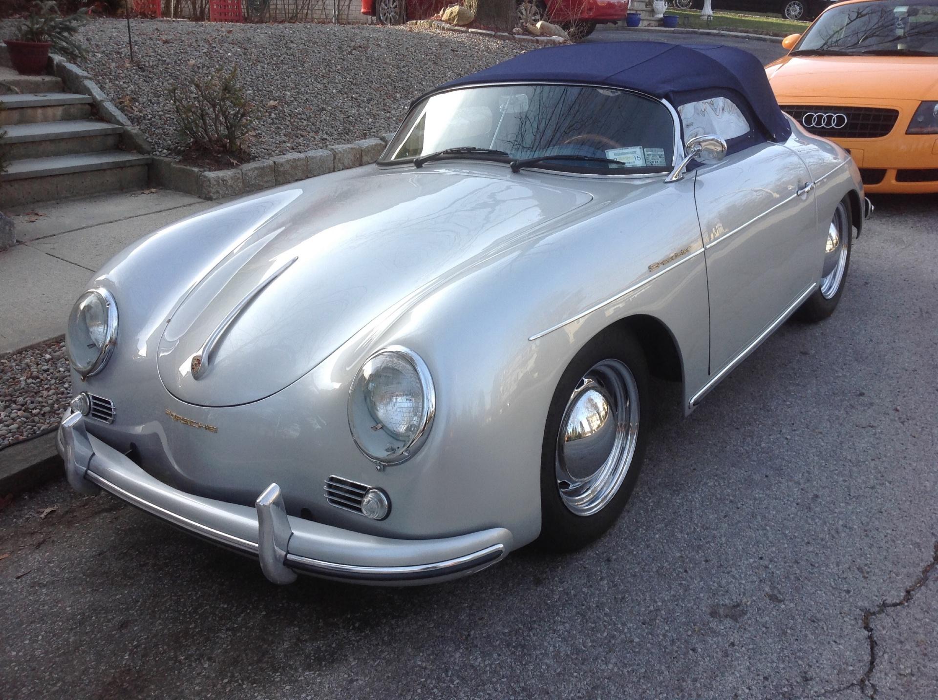 1955 Porsche Speedster Replica Stock Porschspdstr For