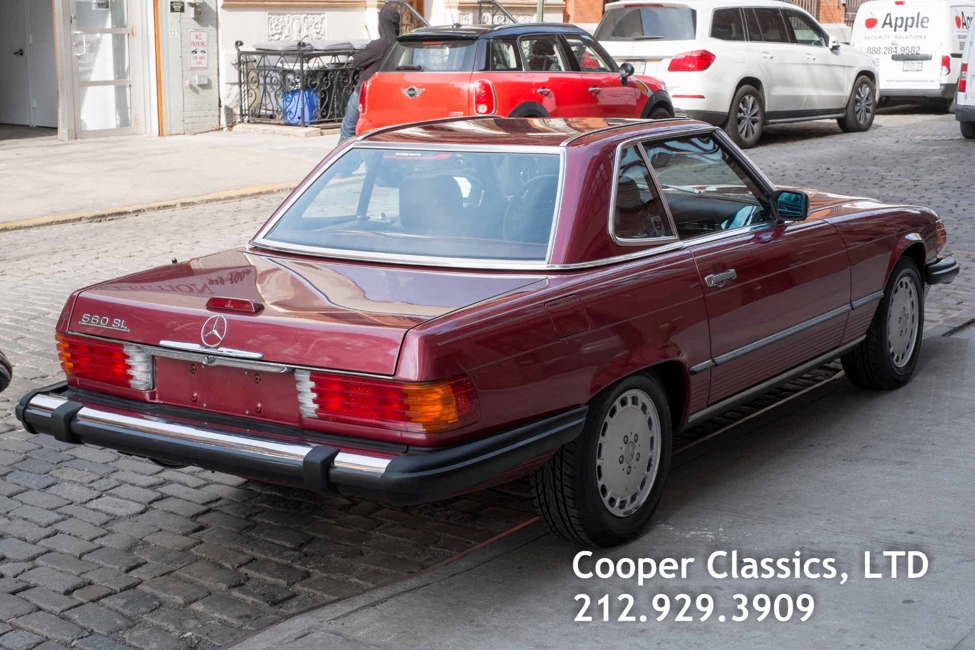 1989 mercedes benz 560sl stock 791 for sale near new for Mercedes benz nyc