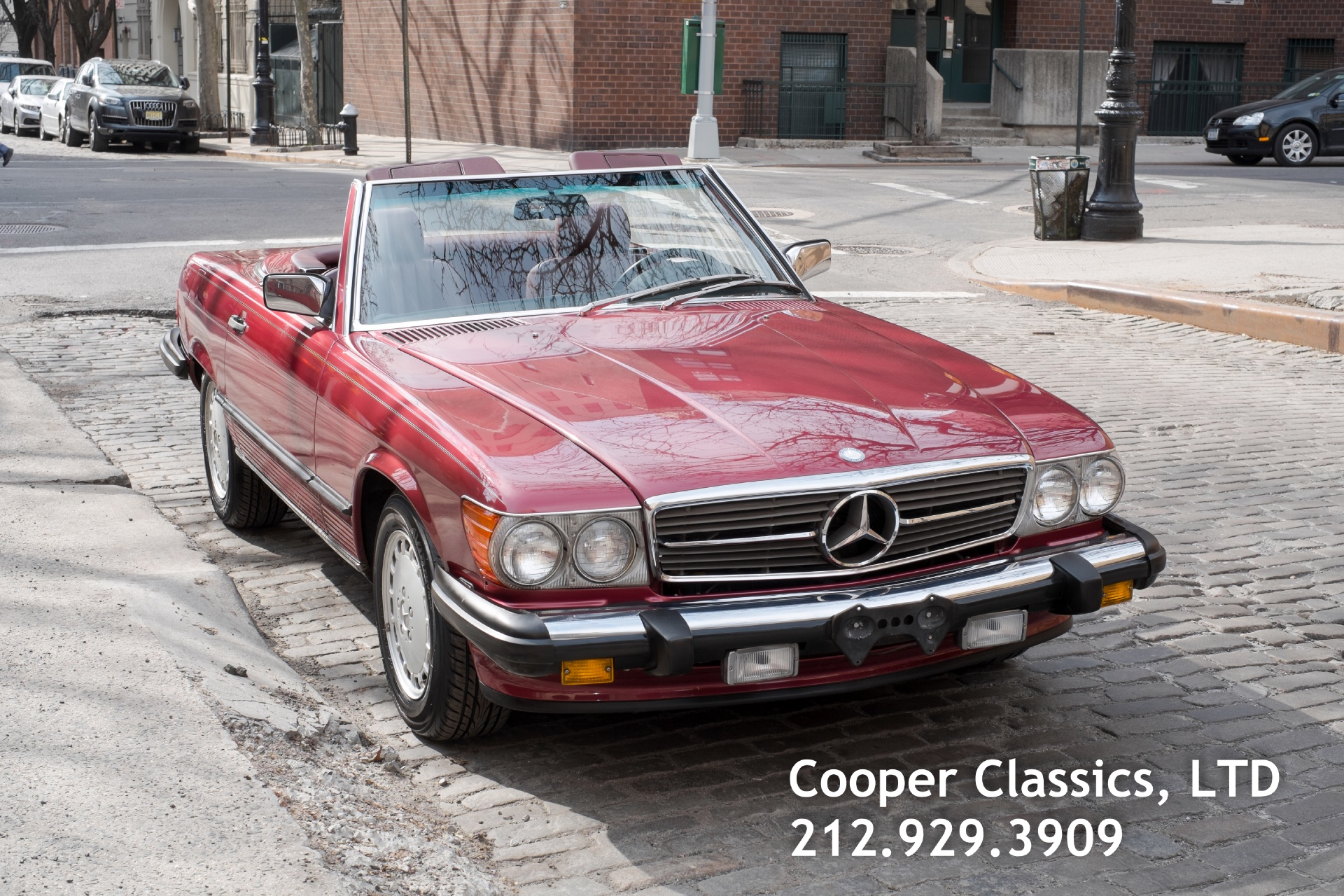 1989 Mercedes Benz 560sl Stock 791 For Sale Near New