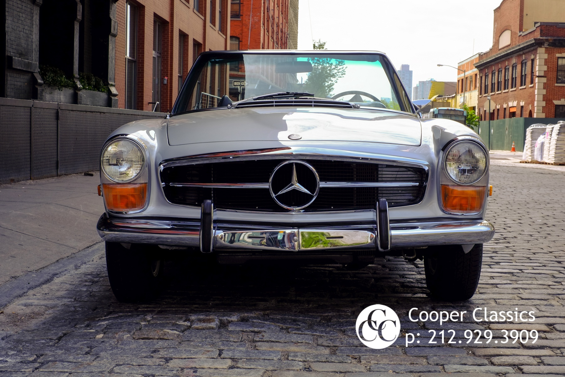 1971 mercedes benz 280sl stock 656 for sale near new for Mercedes benz nyc