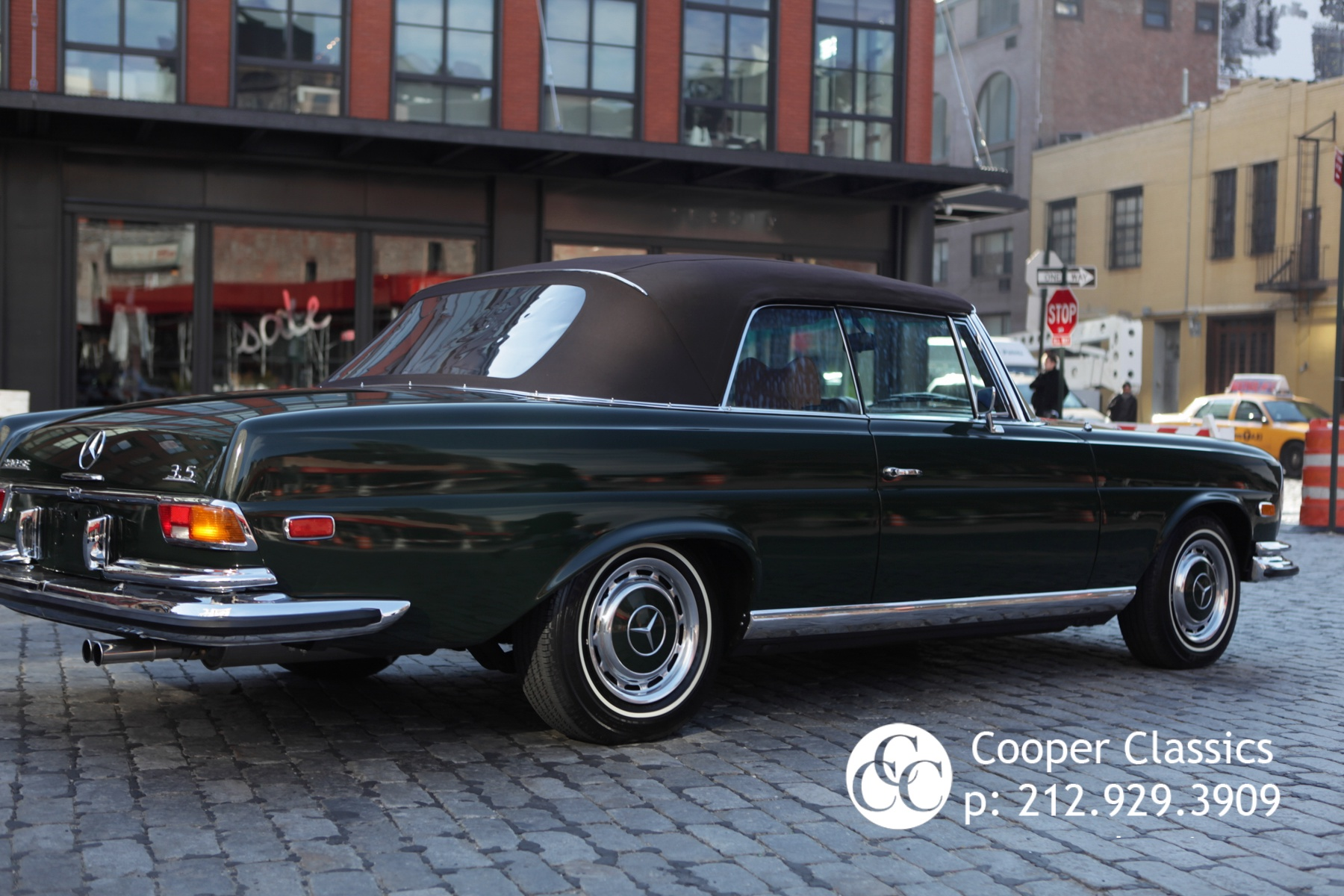 1971 mercedes benz 280se 3 5 stock 002800 for sale near for Mercedes benz in nyc