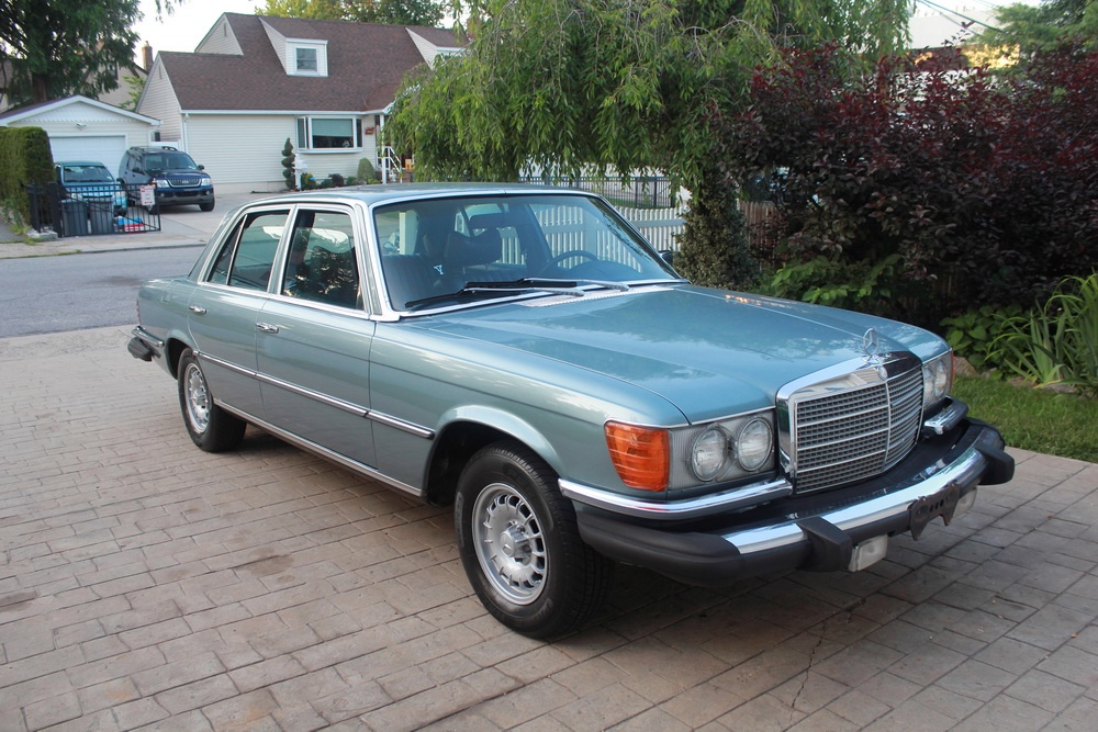 1977 mercedes benz 280se stock 77280se for sale near new for Mercedes benz rental nyc