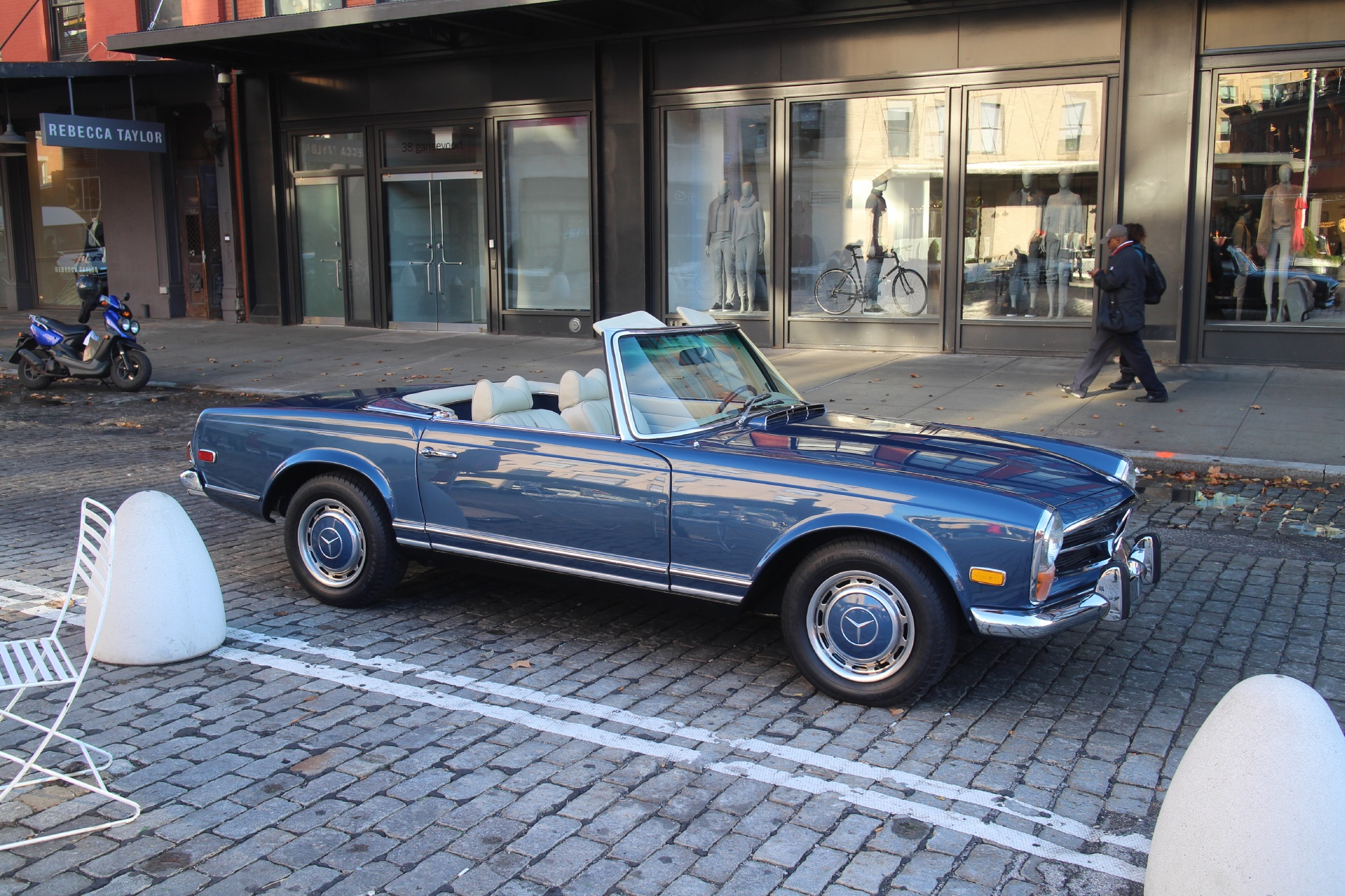 1970 mercedes benz 280 sl stock 628 for sale near new for Mercedes benz nyc
