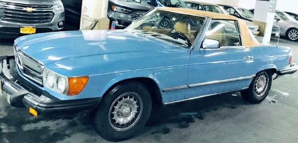 Used-1980-Mercedes-Benz-450SL-80s-European-German-Convertible