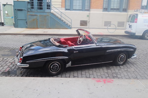 1961 mercedes benz 190sl stock 1961190 for sale near new for Mercedes benz of greenwich used cars