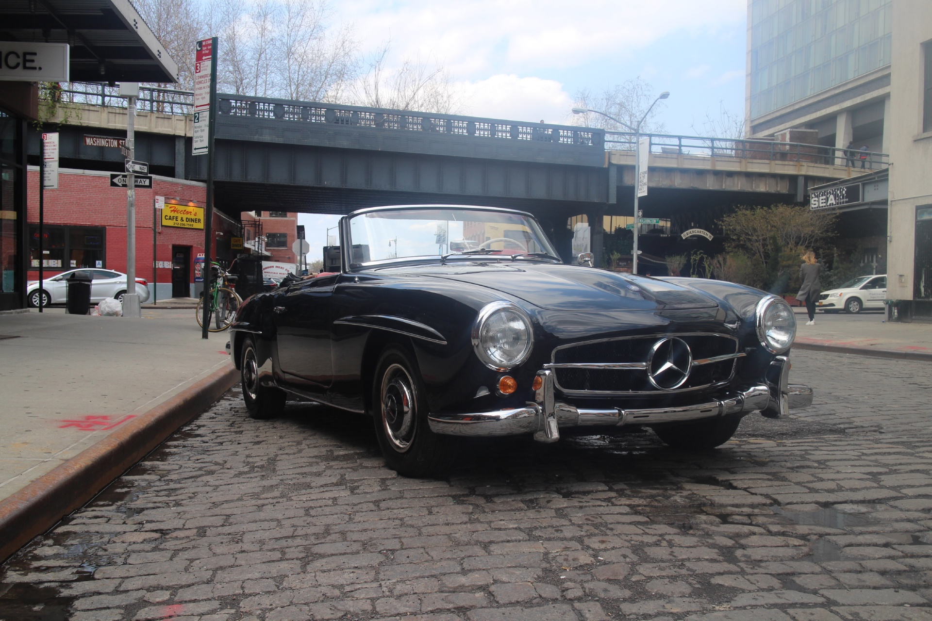 1961 mercedes benz 190sl stock 1961190 for sale near new for Mercedes benz nyc