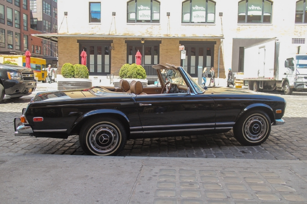 1970 mercedes benz 280sl stock 105 for sale near new for Mercedes benz of greenwich used cars