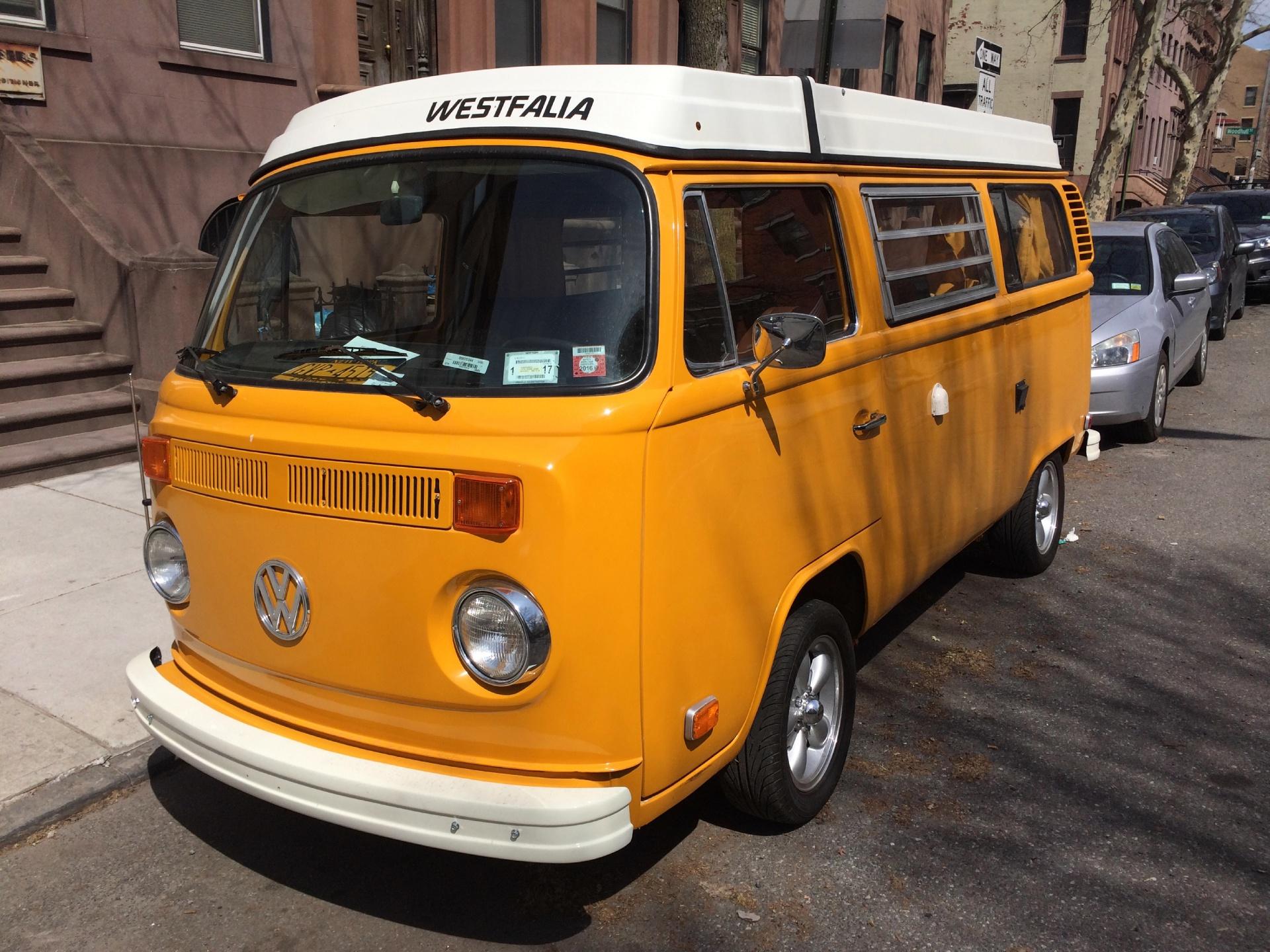1976 Volkswagen Type 2 Westfalia Camper Bus Stock