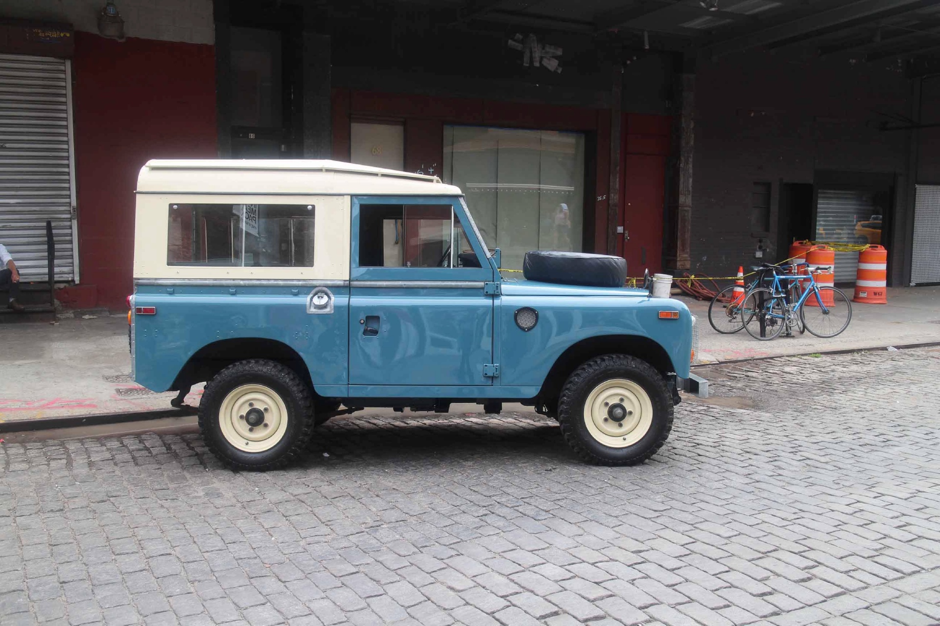 1974 land rover series iii stock 735 for sale near new for Garage land rover nancy