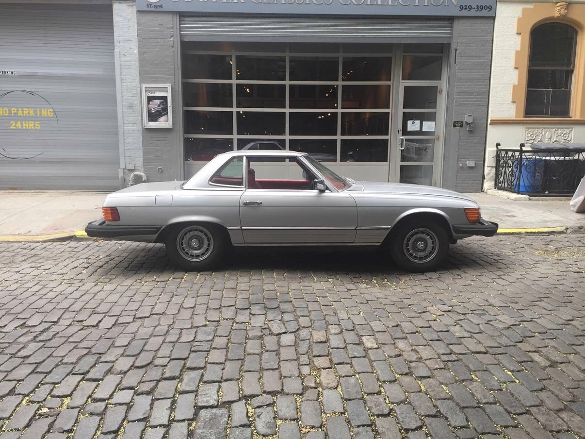 1979 mercedes benz 450sl stock 450 for sale near new for Mercedes benz in nyc