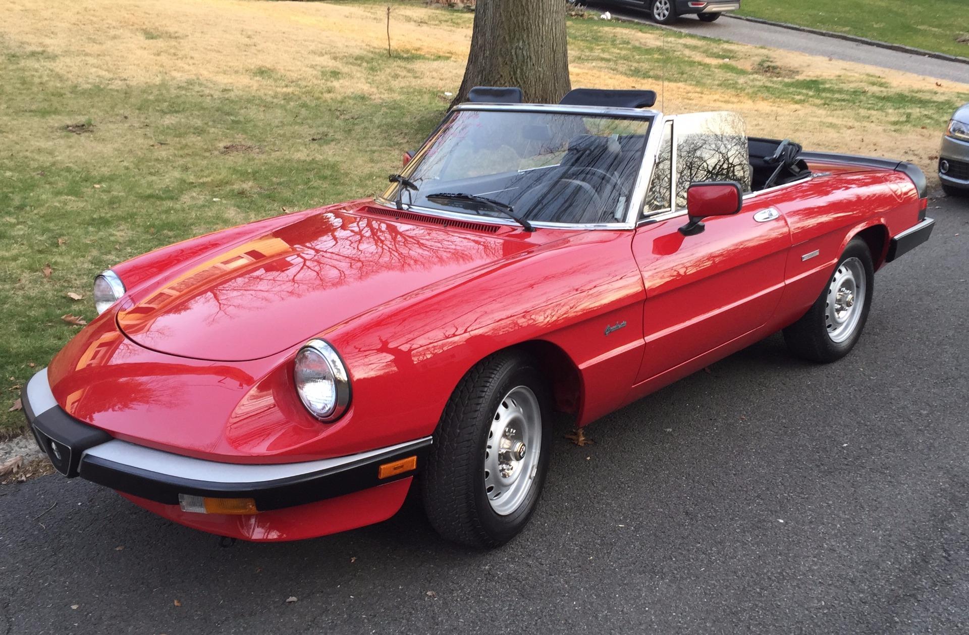 Alfa Romeo Spider Stock SPIDER For Sale Near New York - 1988 alfa romeo spider for sale