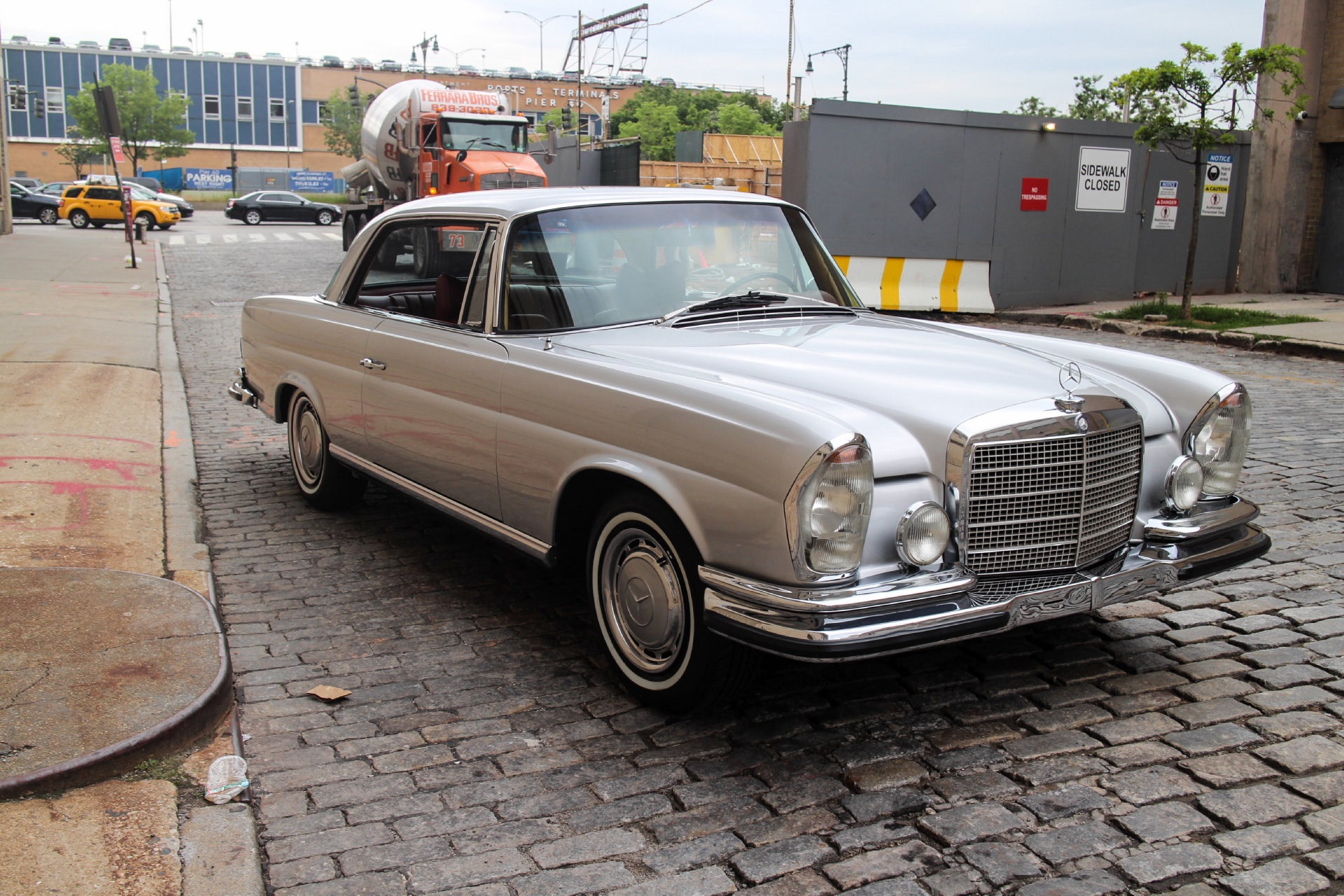 1970 mercedes benz 280 se stock 71280se for sale near for Mercedes benz in nyc