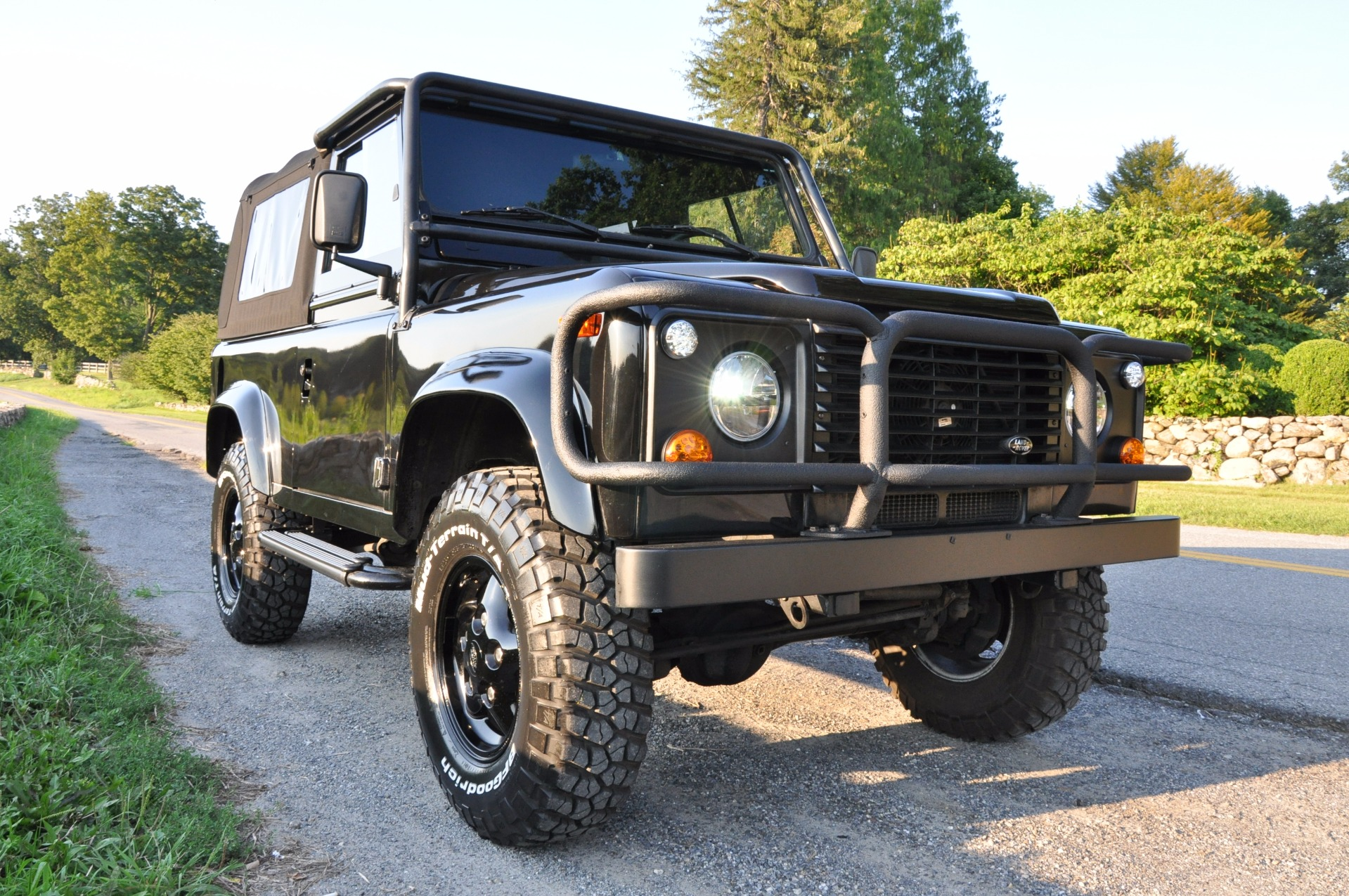 1997 Land Rover Defender 90 Stock # 1997 LAND ROVER