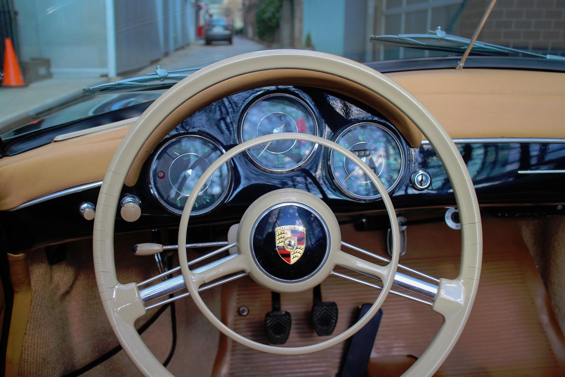1957 Porsche 356a Speedster Stock 1957356aspeedster For