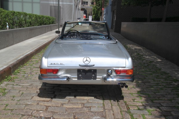 1970 mercedes benz 280sl stock 70280slsilv for sale near for Mercedes benz of greenwich used cars