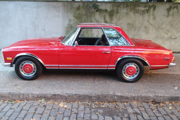 1971 mercedes benz 280sl stock 71280slred for sale near for Mercedes benz of greenwich used cars